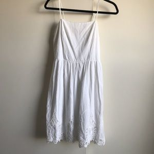 Dresses & Skirts - White crochet dress